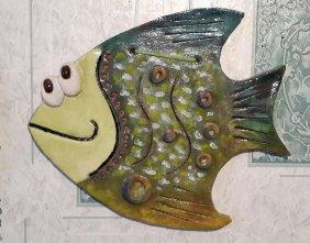 Рыба из соленого теста