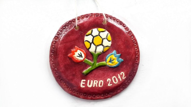 Евро 2012 из соленого теста